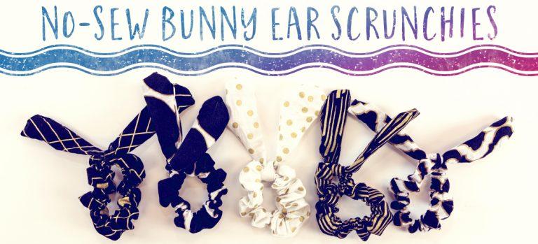 How to make a scrunchie no sew no glue